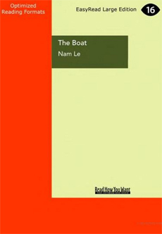 The Boat (EasyRead large print format)