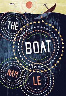 The Boat (UK cover) (Canongate), designed by gray318
